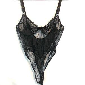 Black Lace Women's L Lingerie
